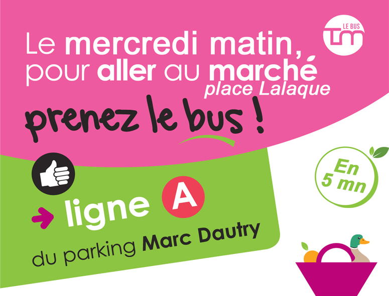 Marché place Lalaque