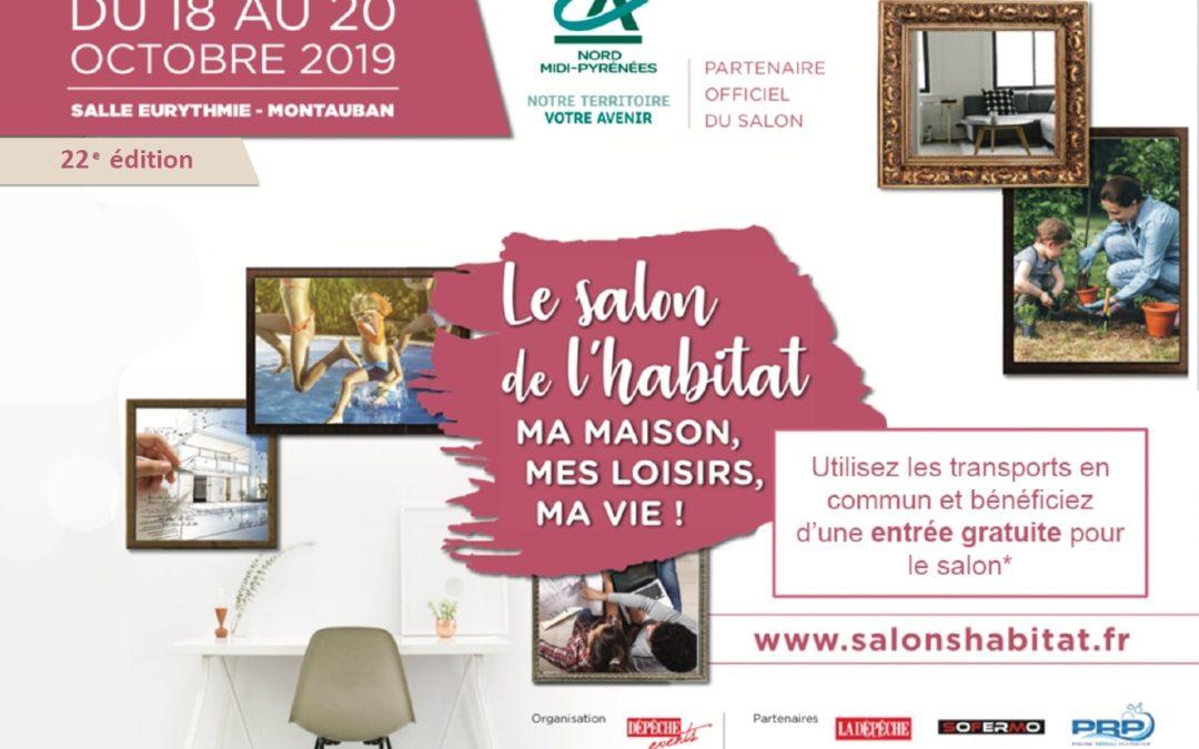 Partenariat SEMTM avec Salon de l'Habitat – du 18 au 20 octobre 2019