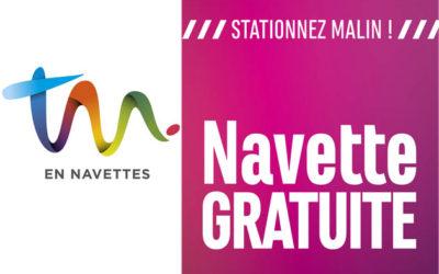 ARRET Navette gratuite «centre-ville / parking»