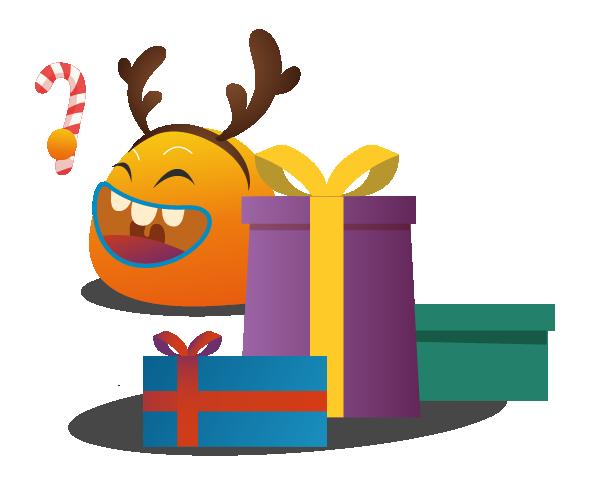 Les courses de Noël c'est cadeau !